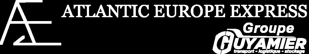 Logo Atlantic Europe Express Votre partenaire transport vers le Royaume Uni
